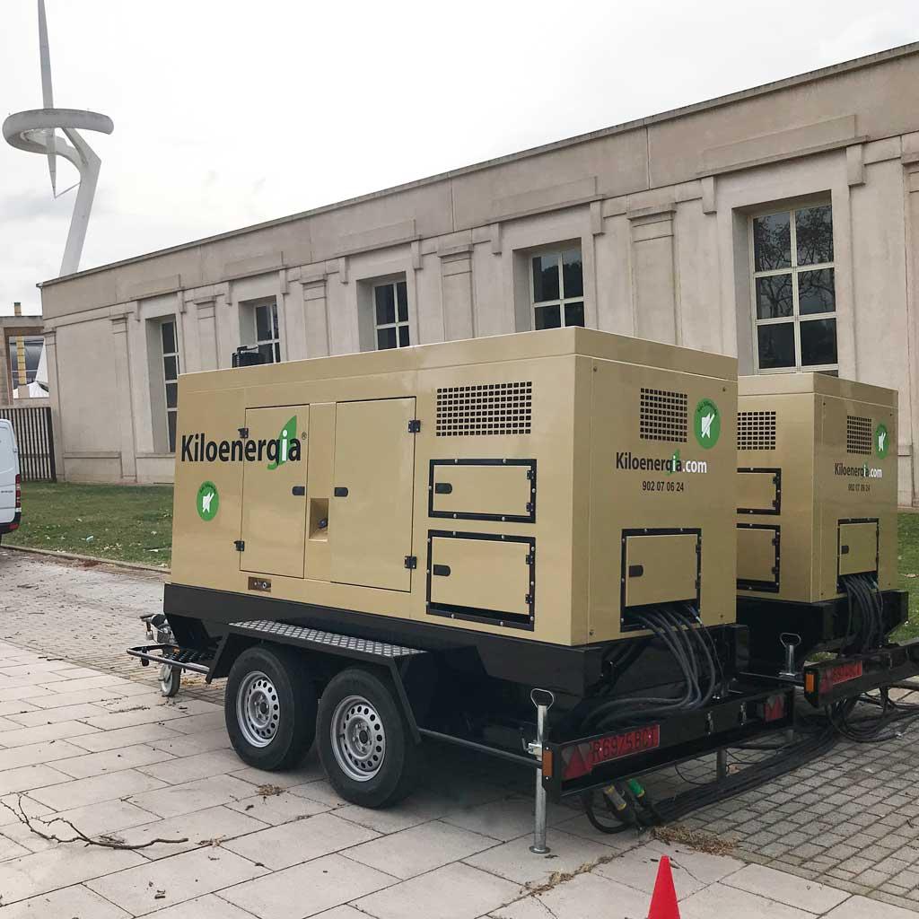 Generador elèctric super-insonoritzat el paral·lel